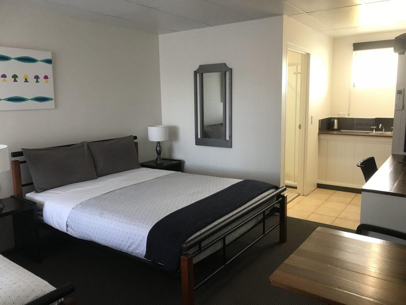Twin Room Cooks Endeavour Motor Inn