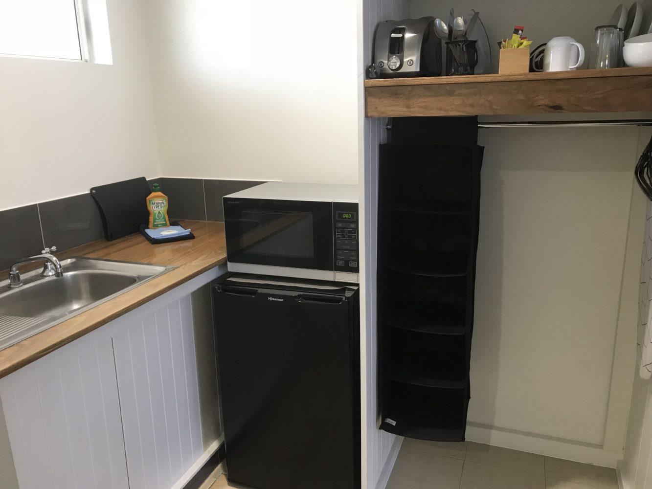 Twin Room Kitchenette Cooks Endeavour Motor Inn